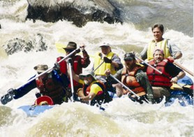 Jim Morris Whitewater Rafting